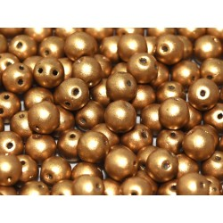 RounDuo® Beads 5 mm Aluminium Silver - 30 pz
