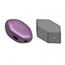 PAROS® par Puca®  7 X 4  mm Metallic Mat Dark Plum - 10 g