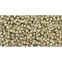 Toho Round 15/0 Permanent Finish Galvanized Aluminium - 10 g