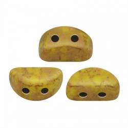 KOS® par Puca®  6 X 3  mm Opaque Ivory  Ceramic Look - 10 g