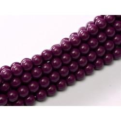 Perle Cerate in Vetro 3 mm Eggplant - 50 Pz